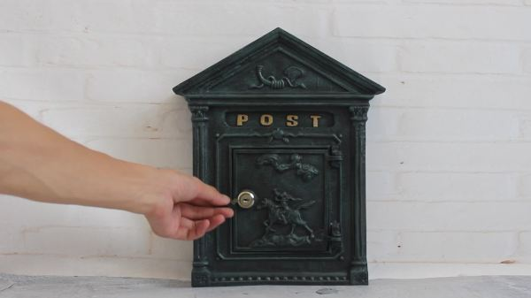 outdoor cast iron wall mounted