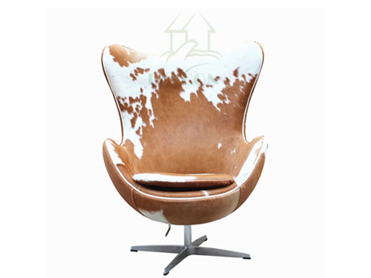 Cowhide Egg Chair Reproduction Cowhide Leather Egg Chairs Buy Cowhide
