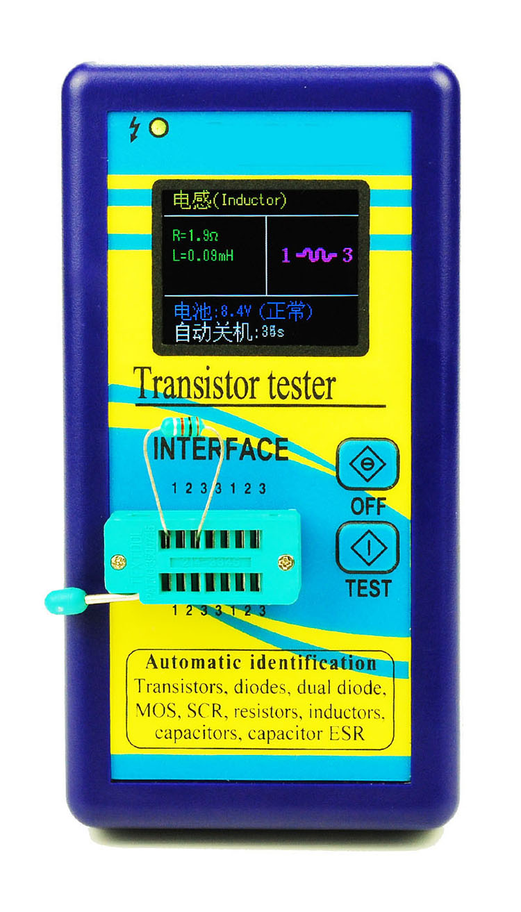 Color Graphic Display M328 Transistor Tester Resistance Inductance Auto Lcr Digital Electric Bridge Capacitance Esr The Following Is A Test Of Some Transistors