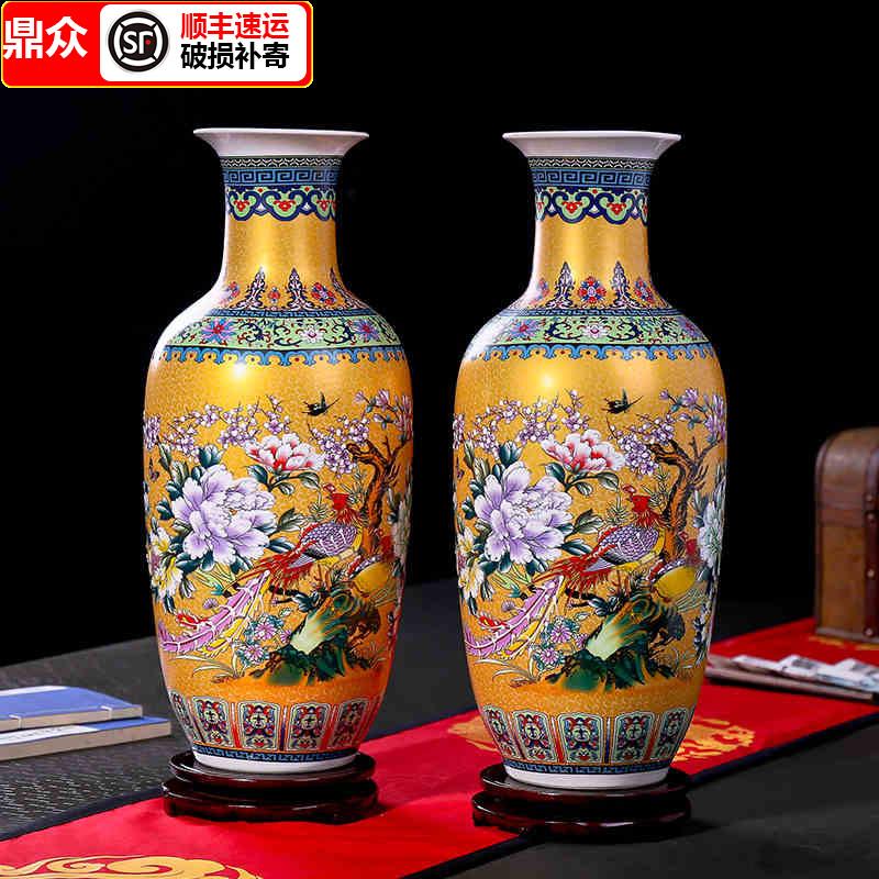 large vase for living room beautiful wall art category ceramics productname jingdezhen simple european style landing flower arrangement modern chinese