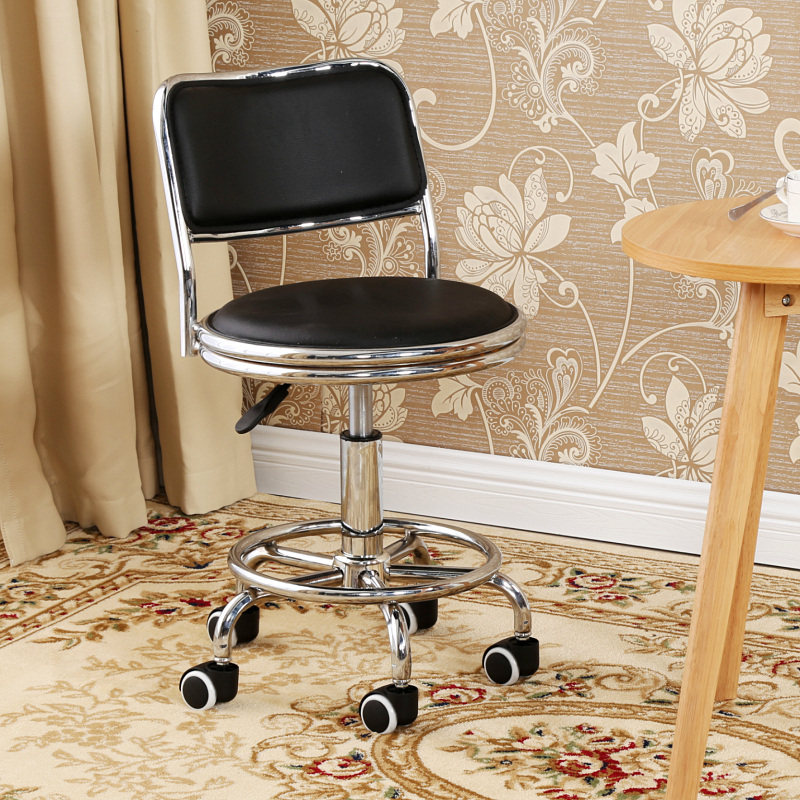 small computer chairs diy dining makeover usd 39 14 special round stool home lifting rotating chair bar barber nail makeup shop low