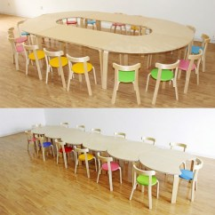 Children Table And Chairs Slip Covers For Dining Room Usd 46 65 Kindergarten Tables Solid Wood Chair Training Early Childhood