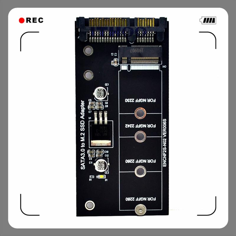 M2轉SATA3轉接卡KEY B-M SSD固態硬碟轉6G接口轉換卡NGFF轉接頭