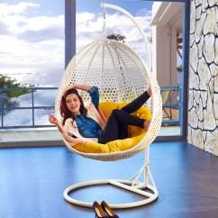Hanging Chair Swing Cover Backs Wedding Usd 676 63 Flying Rattan Basket Rocking