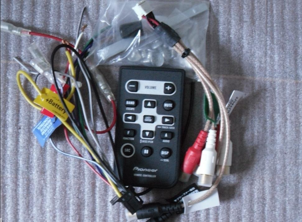 pioneer wiring remote vt thermo fan diagram usd 68 66 car cd machine control power cord deh 2250 tail wire