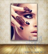 HD Nail Shop Poster beauty nail make up picture makeup ...