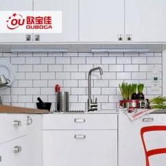 Beveled Subway Tile Kitchen Corner Cabinets 北欧厨房瓷砖75 150面包砖地铁砖高端智洁釉面小白砖宜家厨卫墙砖 Tmall 150面包砖地铁砖高端智洁釉面小