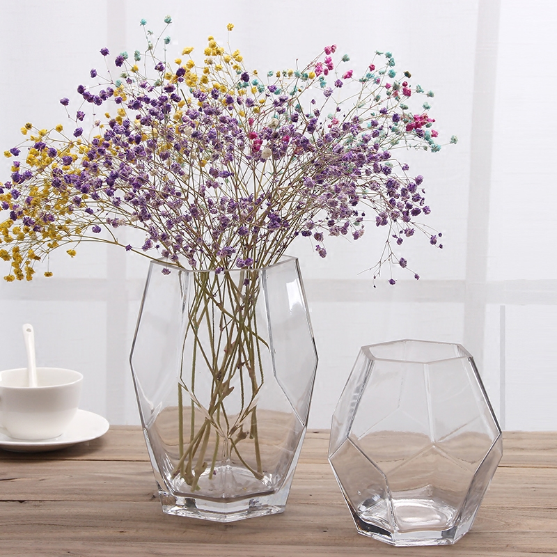 living room flower vases shabby chic furniture usd 16 10 european small fresh vase glass transparent creative trumpet home dried decoration