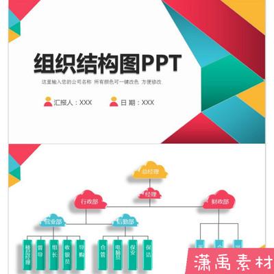組織架構圖PPT模板集團公司結構圖PPT 新款大氣公司企業PPT模板
