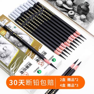 馬利素描筆套裝炭畫鉛筆繪畫美術專用素描寫生碳筆軟中硬工具全套裝