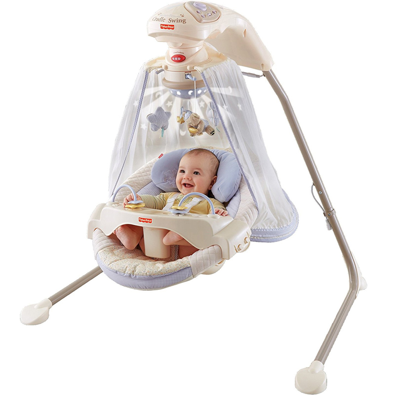 rocking chair baby lightweight beach chairs usd 125 11 american fisher price comfort music electric coax sleep artifact