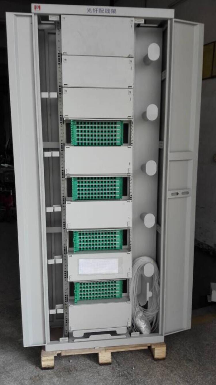 medium resolution of 576 core odf fiber optic wiring cabinet odf wiring cabinet wiring rack triple play light distribution box light distribution rack