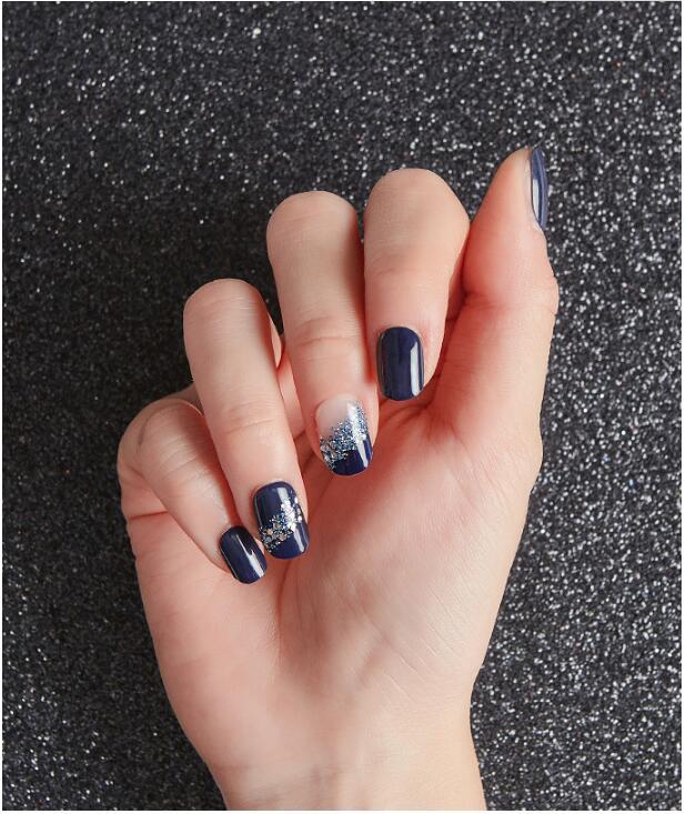 指甲貼1秒甲油膠穿戴美甲貼diva指甲貼美甲片指甲貼片外盒磨損-阿里巴巴