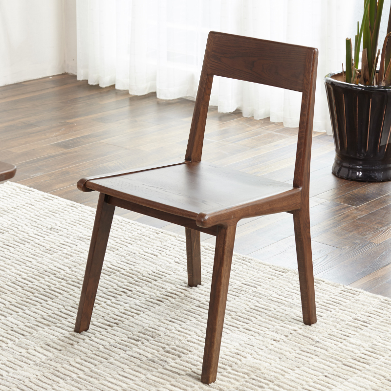 japanese table and chairs tufted leather office chair usd 353 48 garland pure solid wood dining oak walnut lightbox moreview
