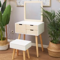 [USD 106.98] Nordic dressing table bedroom small apartment ...