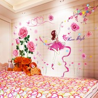 Self-adhesive wall wallpaper wallpaper stickers bedroom ...