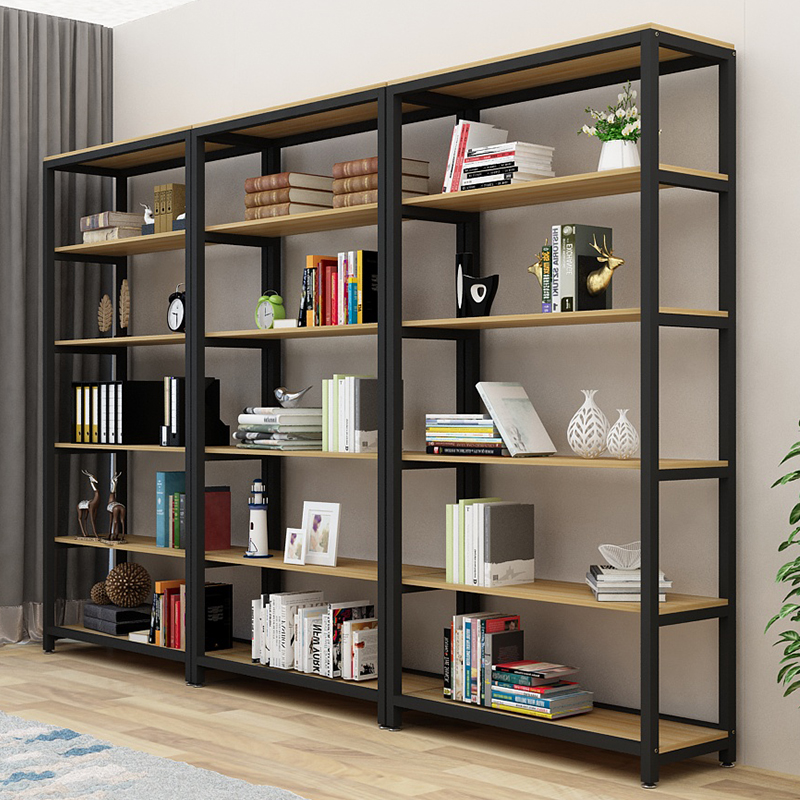 bookcase cabinets living room wall colors with brown furniture usd 55 20 simple bookshelf floor children s combination shelf display cabinet economy