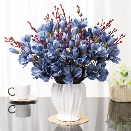 artificial flowers for dining table