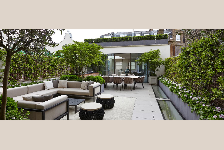 庭院花園景觀設計意向圖 – 靈感邦_Ideabooom