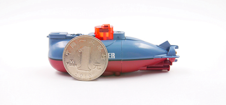 防水迷你充電遙控潛水艇電動船模型戲水浴缸魚缸玩具兒童水下小型