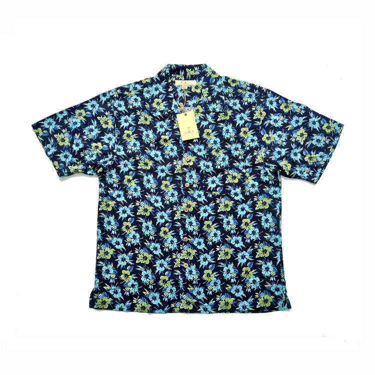 夏威夷襯衫海南旅遊衣服海邊襯衫島服男海灘花襯衫印花短袖男包郵