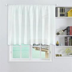 Cheap Kitchen Curtains Charcoal Cabinets 小窗帘半帘短帘短窗隔断纱帘成品布料厨房门帘厨柜帘免打孔棉便宜 便宜的厨房窗帘