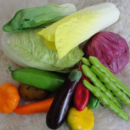 kitchen samples cheap island ideas 仿真蔬菜水果青菜模型果蔬橱柜商场样板装饰摆设道具厨房样品间 tmall com天猫