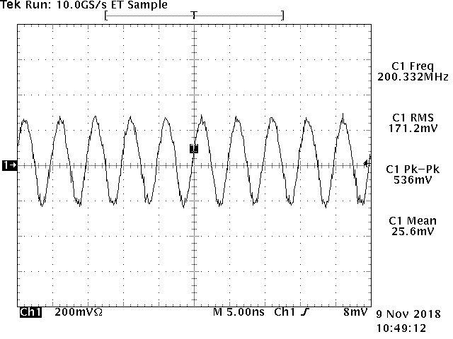NWT200 50KHz~200MHz USB Sweeper Signal Source RF Power