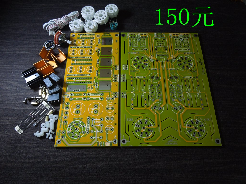Famous Circuit 6sn7 Tube Preamplifier Diy Kit Refer Cary