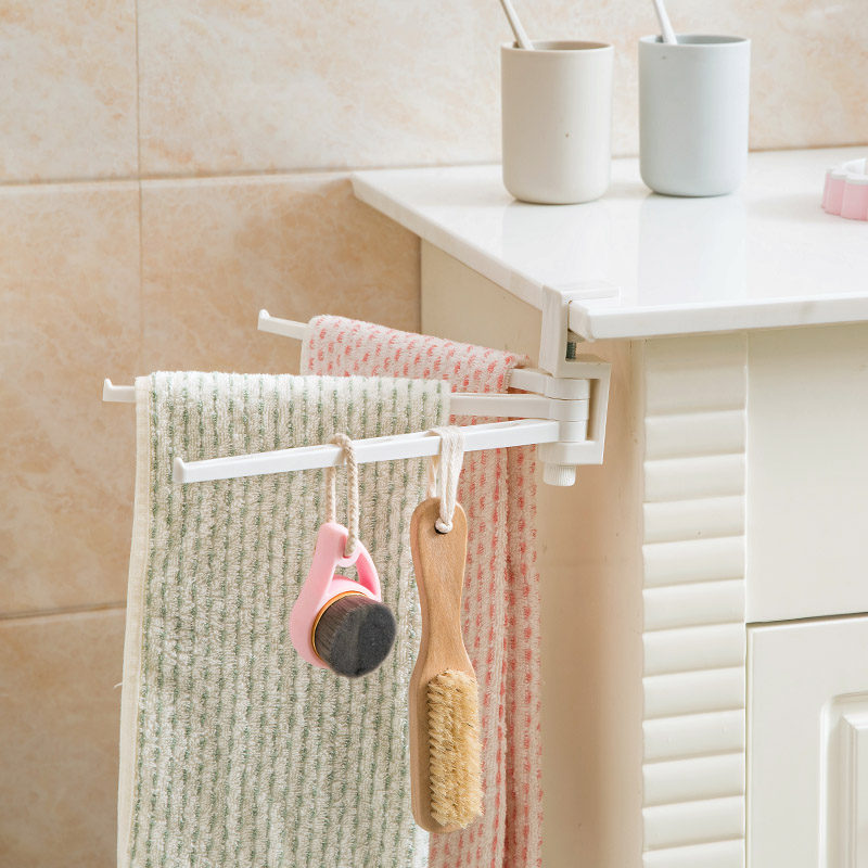 kitchen towel racks french country lighting usd 5 17 home free punch multi bar rack toilet bathroom