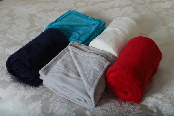 2018 China Cheap Polyester Coral Fleece Bed Blankets Custom High Quality Polar Flannel