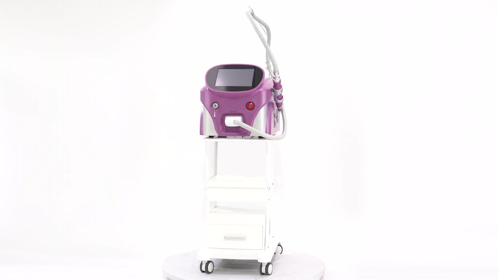 Portable Picosecond Q Switch Nd Yag Laser Tattoo Removal