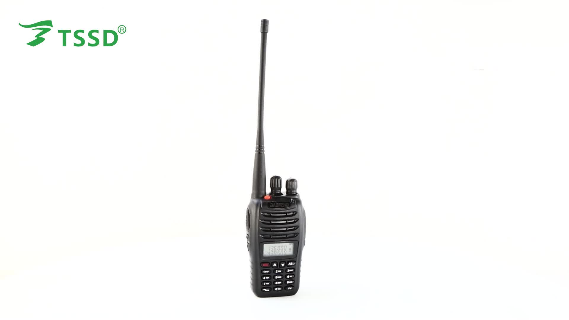 Uhf Vhf Baofeng Uv B5 Walkie Talkie Keyboard
