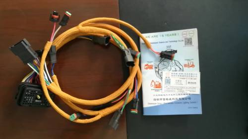 small resolution of 70 pin connector cat 230 6279 e330c 330c c9 engine wiring harness