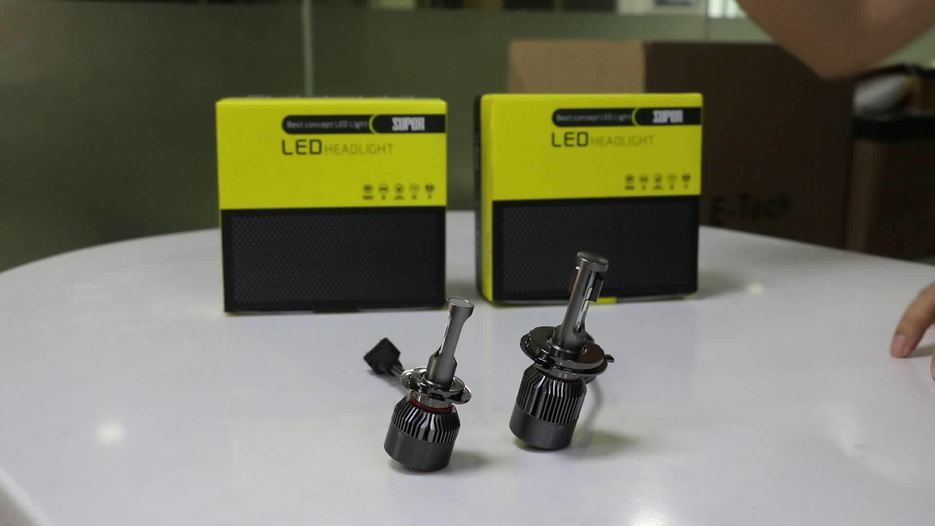 hight resolution of high power super bright led headlight 9004 12v 55w bulb fits what cars h4 for toyota