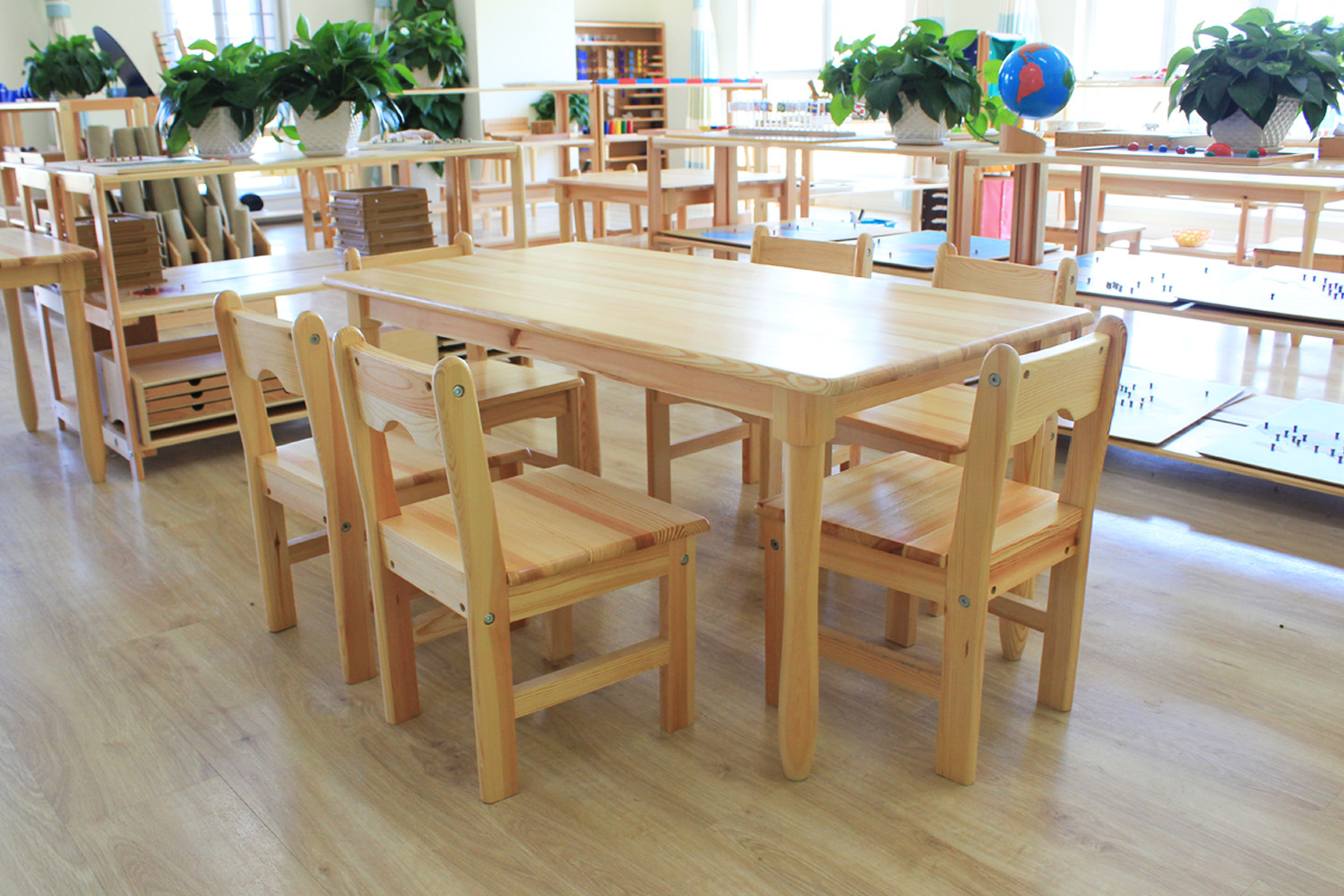 Study Table And Chair Solid Wood Kindergarten Table Chair Children S Table And Chair Set Game Toy Table Baby Study Table
