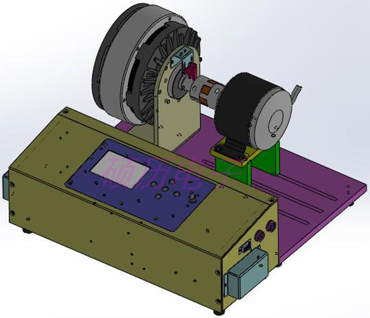 測功機電機性能測試儀負載轉矩速度效率性能測試臺架電機測功機