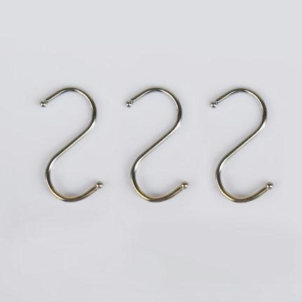 kitchen drying rack bronze lighting 厨房浴室金属挂钩s型强力承重多功能实用s挂钩金属晾衣架1个装 tmall com天猫