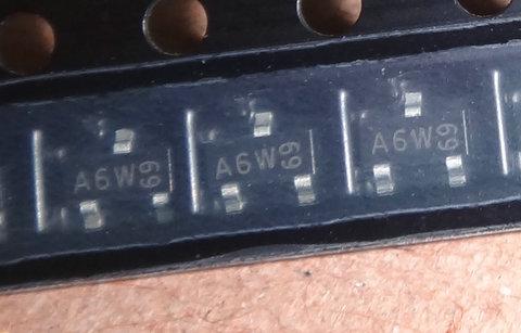 SOT23 power board SMD transistor a6t A6p A6W A6 original