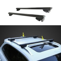 2pcs Roof Rack Car Roof Carriers For Mitsubishi Pajero ...