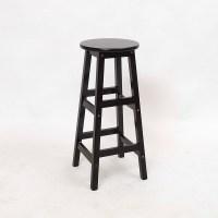 Solid wood bar chair European minimalist bar stool bar
