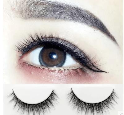 3D假睫毛的特點: