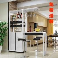 Small bar table home wine cabinet Modern minimalist bar ...