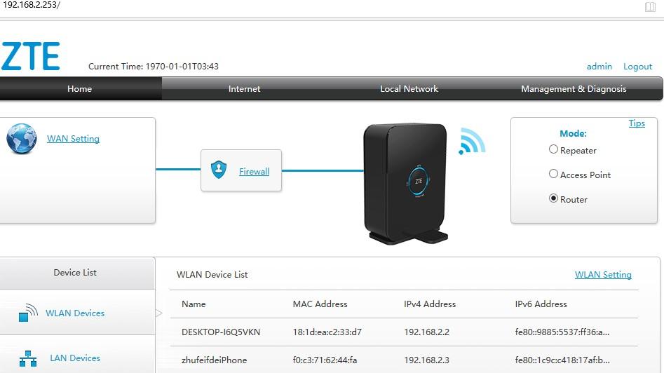 Zte Admin Access : Converge Zte F670l Full Admin Access