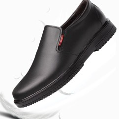 Shoes For Work In The Kitchen Accessories Usd 44 84 Chef Men S Non Slip Waterproof Oil Protection Leather Wear Breathable