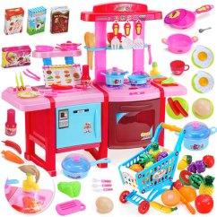 Kids Kitchen Toys And Bath 仿真厨具宝宝做饭儿童厨房玩具套装煮饭女孩女童3 5岁小伶6 8 Tmall Com天猫 5