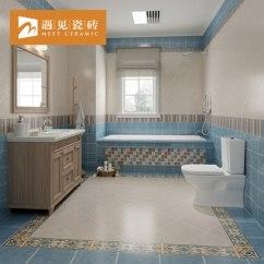 Tile Kitchen Floor Cast Iron Sink 遇见浴室卫生间瓷砖防滑地砖复古厨卫厨房地板砖地中海仿古砖300 Tmall