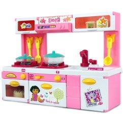 Child Kitchen Set Sink Grid 朵拉dora儿童厨房玩具套装仿真迷你做饭真煮餐具宝宝小女孩过家家 Tmall 朵拉dora儿童厨房玩具套装仿真迷你做饭真煮餐具宝宝小