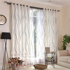 Simple Living Room Curtains Modern Decor Ideas For Small Usd 12 21 Rhyme Finished Custom Fabric Floor To Ceiling Home Decoration Curtain