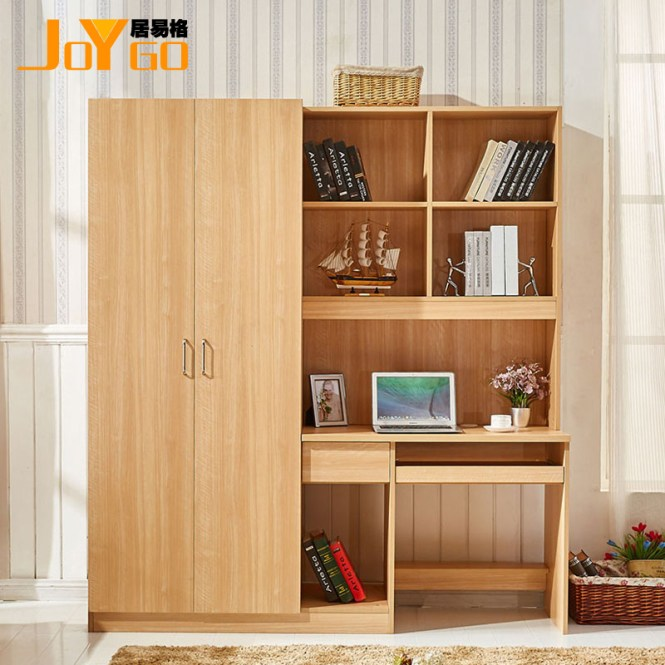 Joygo Home Yi Grid Wardrobe Computer Desk One Table Small Apartment Al Housing